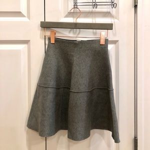 Dresses & Skirts - Gray knitted skater skirt